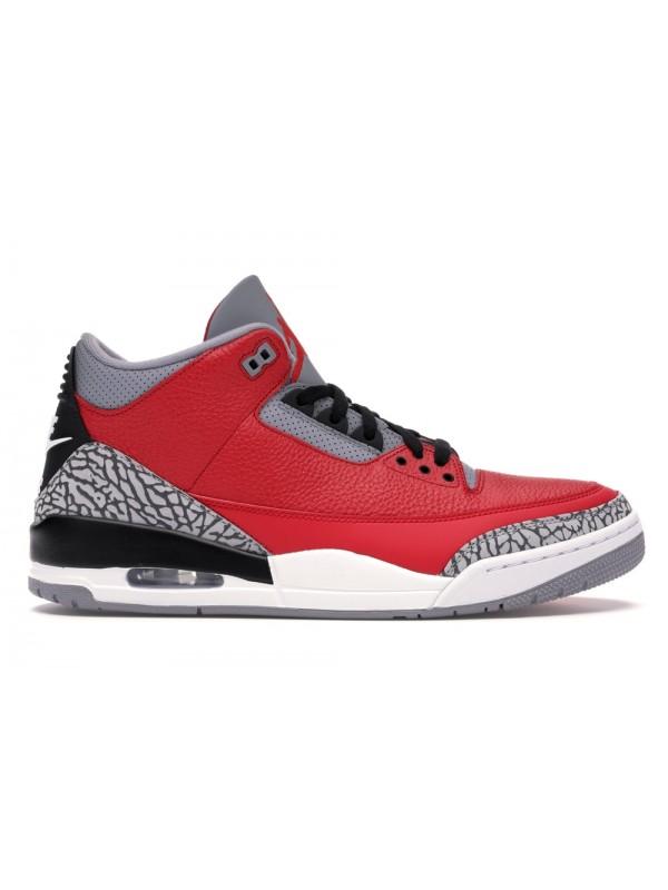 UA Air Jordan 3 Retro SE Unite Fire Red
