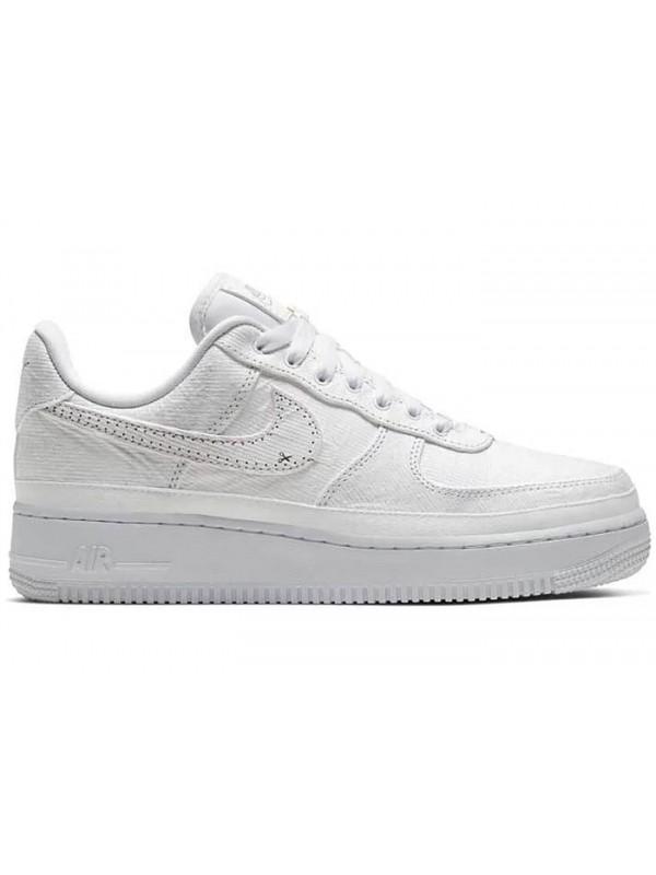 UA Nike Air Force 1 LX Tear Away White