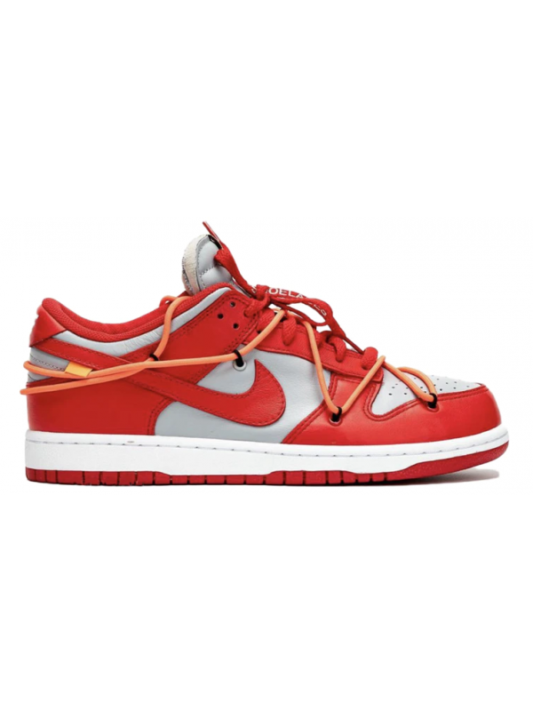 UA Nike Dunk Low Off-White University Red
