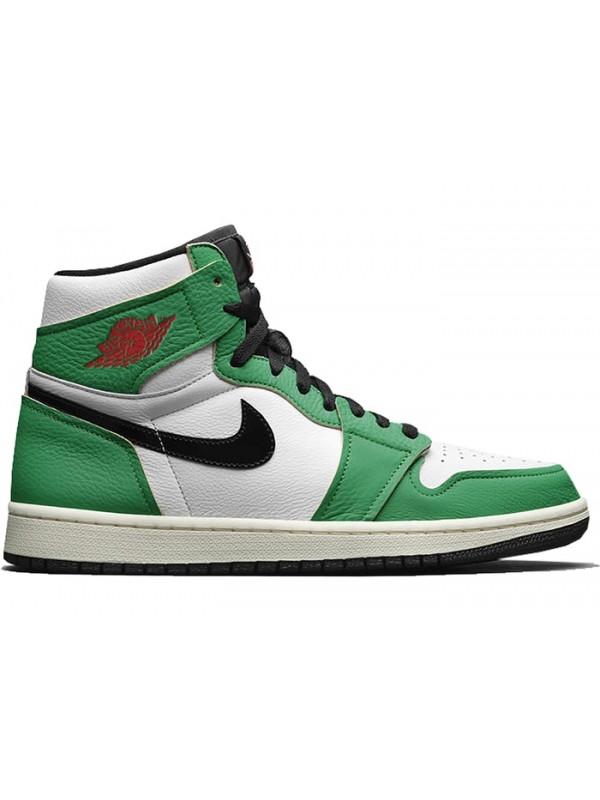 UA Air Jordan 1 Retro High Lucky Green